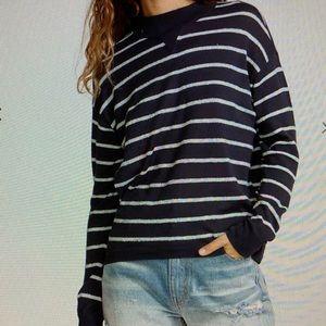 RVCA women's Tristan striped sweater size M